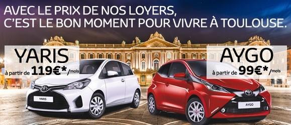 Déstockage Toyota Toulouse du 28 Novembre au 14 Décembre