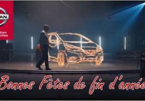 Nissan vous souhaite de Bonnes Fêtes de fin d'Année!