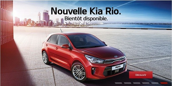 Bienvenue à la Nouvelle Kia Rio! Bientôt disponible chez vos concessionnaires Kia