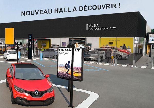 Nouveau hall véhicules neufs à découvrir à DAX!