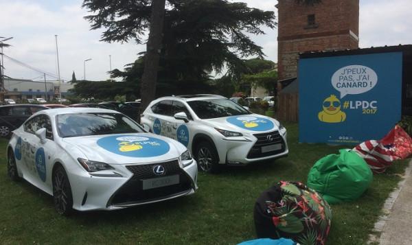 """Lexus Toulouse partenaire du Restaurant le Canard sur le Toit à Colomiers... Plus précisément de la """"Piscine du Canard sur le Toit"""" !!!!"""