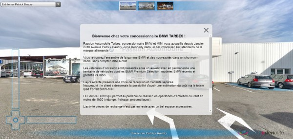 VISITEZ LA CONCESSION BMW / MINI DE TARBES GROUPE EDENAUTO EN 360