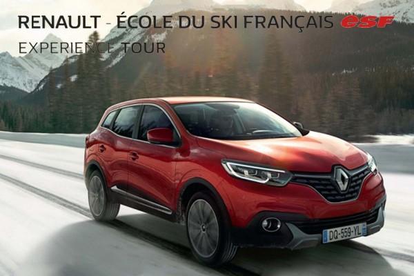 Renault Exprience Tour 2017 avec l'ESF  à l'assaut des Montagnes avec deux Etapes Pyrénéenes