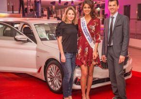 Présentation de Nouvelle BMW Série 5 et MINI Countryman sous le signe du Charme à la Concession BMW / MINI de Béziers Groupe Edenauto en présence d'Aurore KICHENIN  1er Dauphine de Miss France 2017