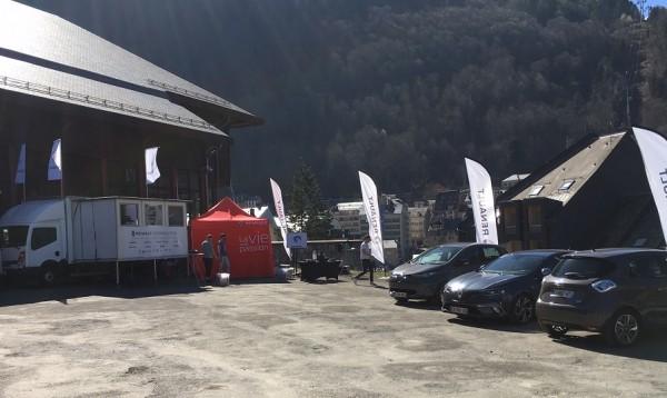 Renault Expérience TOUR 2017 Cauterets avec la Participation de Renault Lourdes Groupe edenauto
