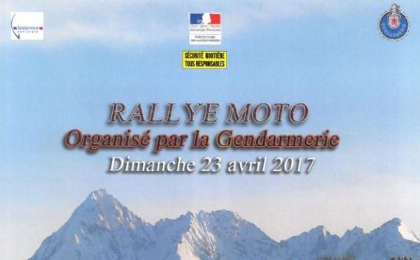 Edenauto partenaire du Rallye Moto organisé par l'Escadron Départemental de Sécurité Routière et la Préfecture des Hautes Pyrénées le 23 avril 2017