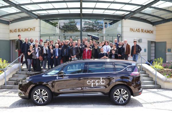 Mécénat Renault PPDA Pau Lescar et Concerto : Remise Officielle Renault Espace