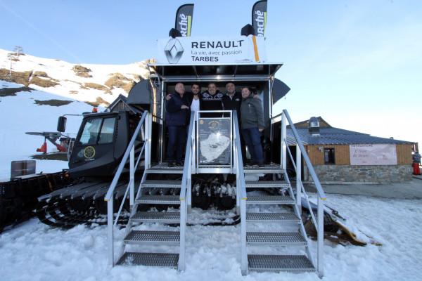 Renault Tarbes partenaire du Food Truck Snow Tasty
