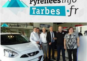 A lire dans Pyrénées Info Tarbes.fr - L'info de Tarbes Une voiture pour les Gagnants du loto