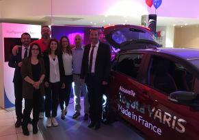 Découverte du tout nouveau Showroom Toyota Montauban et Présentation de Nouvelle Toyota YARIS jeudi 27 Avril 2017