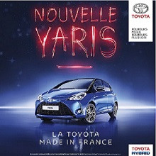 NOUVELLE TOYOTA YARIS, RESSENTEZ SON ENERGIE MADE IN FRANCE