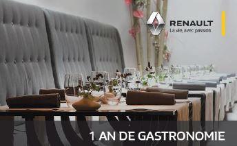 Avec My Renault, offrez vous le meilleur de la restauration
