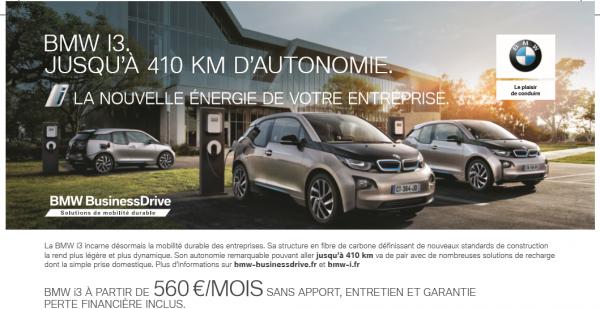 BMW i 3 LA NOUVELLE ENERGIE DE VOTRE ENTREPRISE