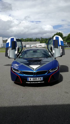 La BMW i8 est dans les starting block pour le Grand Prix de Pau.