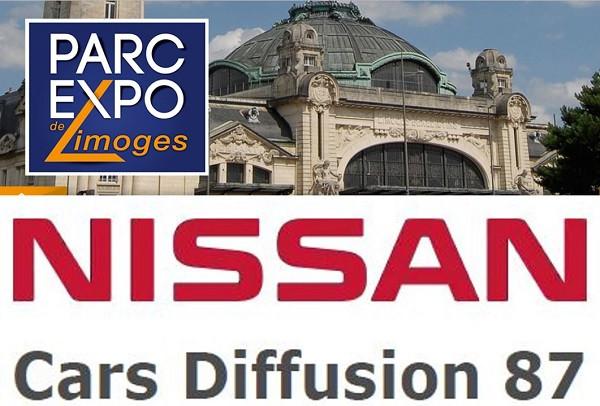NISSAN CARS DIFFUSION 87 expose à la Foire exposition de Limoges! Du 20 au 28 mai 2017