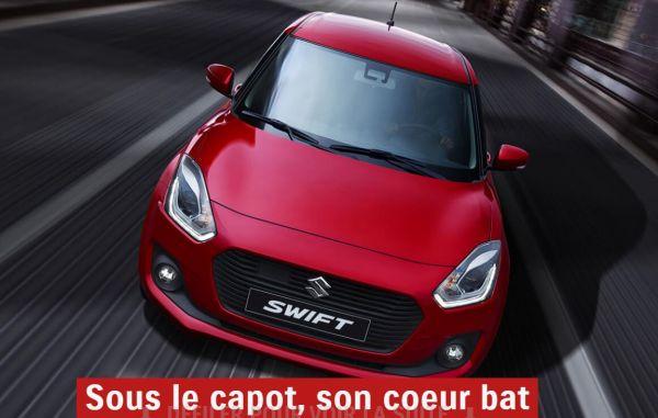 Plus moderne que jamais, la nouvelle Suzuki Swift est reconnaissable au premier coup d'oeil. A découvrir dans les concessions Suzuki du Groupe edenauto