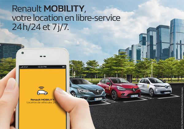 L'auto-partage chez Renault