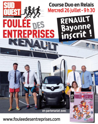 Renault Bayonne dans la foulée