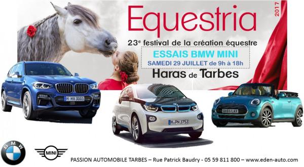CENTRE D'ESSAI BMW-MINI POUR LE FESTIVAL EQUESTRIA