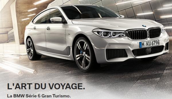 La BMW Série 6 Gran Turismo.