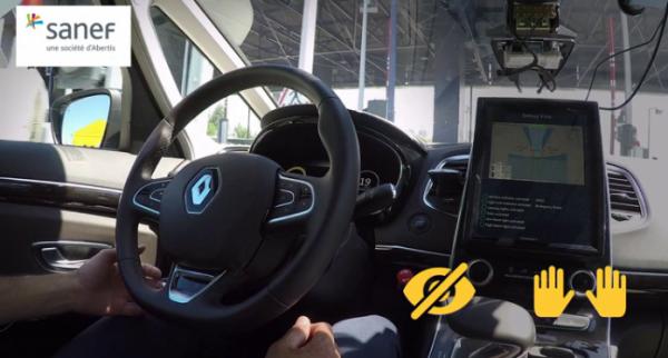 Renault et Sanef s'unissent autour du véhicule autonome