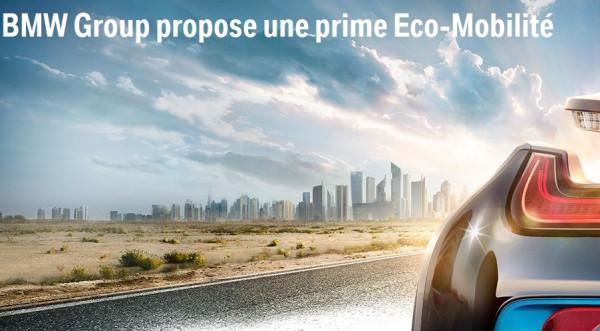 BMW Group propose une prime Eco-Mobilité