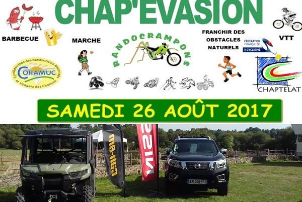 NISSAN Limoges partenaire du CHAP'EVASION 3ème édition!
