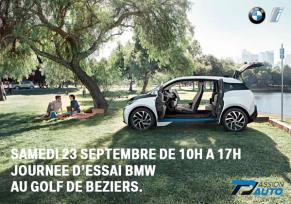 Journée d'essai BMW Golf Cup de Béziers