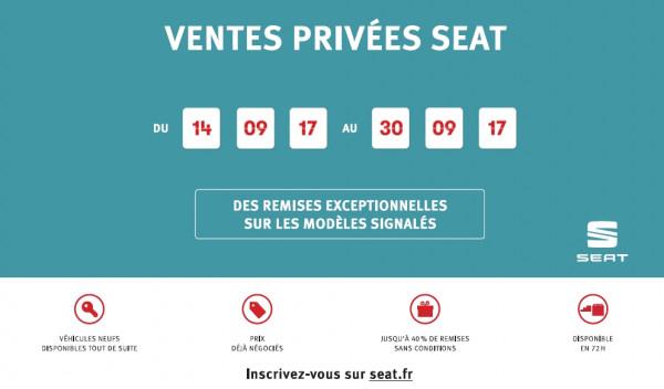 VENTES PRIVEES SEAT