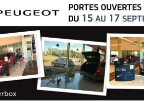 PORTES OUVERTES Peugeot du 15 au 17 septembre