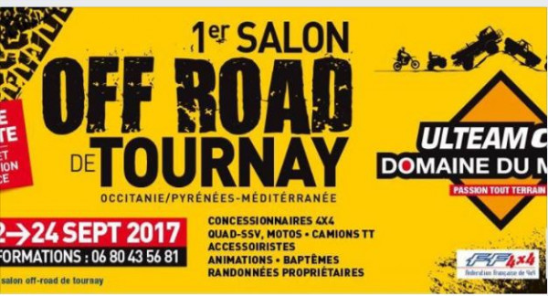Salon Off-Road à Tournay