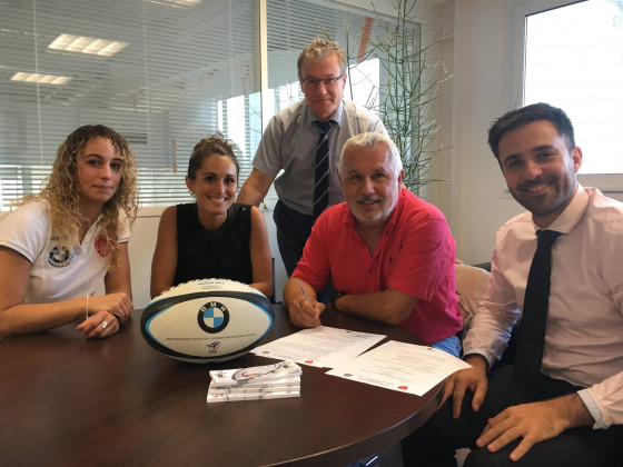 BMW partenaire du Rugby