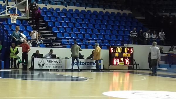 Basket : l'Elan Béarnais domine Nanterre 89-75