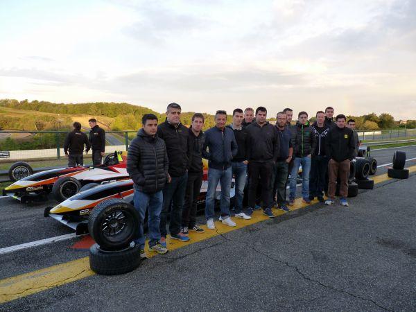Journée organisée pour l'équipe du service Aprés-Vente Renault