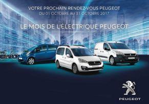 Le mois de l'électrique Peugeot - Prolongation!