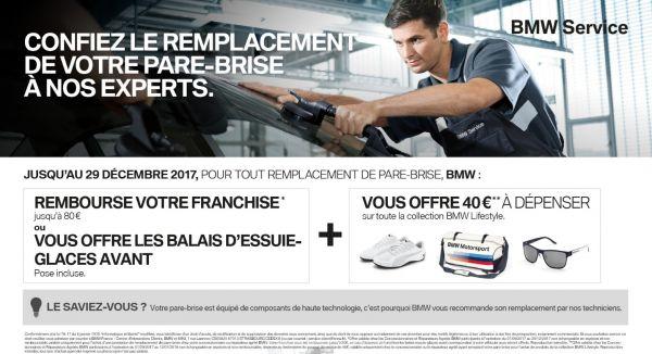 Réparation & Remplacement de Pare-brises BMW / MINI.
