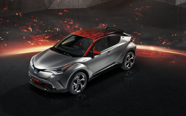 A DECOUVRIR : TOYOTA C-HR HY-POWER CONCEPT
