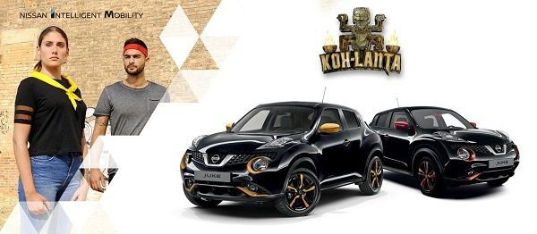 Nissan JUKE partenaire de Koh Lanta : Découvrez le film « Le choc des couleurs » !