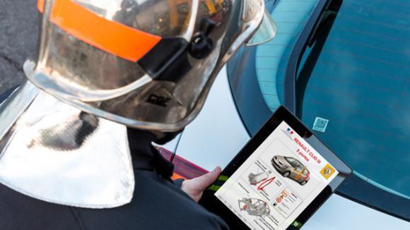Renault toujours en pointe sur la sécurité routière avec le RESCUE CODE