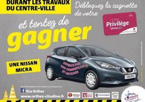 INCROYABLE! Une Nouvelle Nissan MICRA a gagner à Orthez!