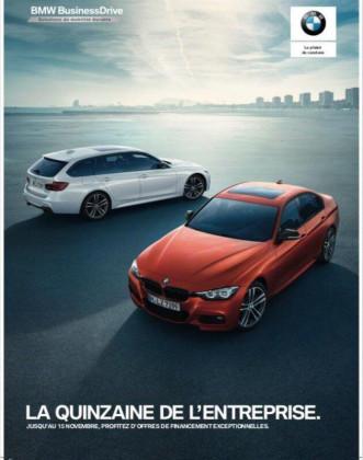 """La Quinzaine de l'Entreprise """"BMW Business Drive"""""""
