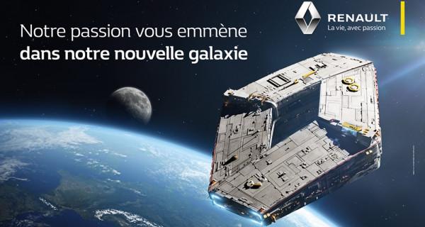 Renault se met à l'heure « Star Wars »