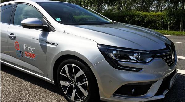 Projet Scoop : Renault fait rouler 1 000 Megane connectées