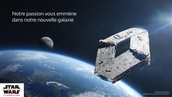 Renault partenaire de la saga STAR WARS™