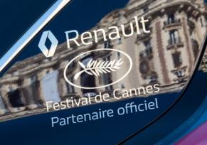 Renault : partenaire officiel du Festival de Cannes !