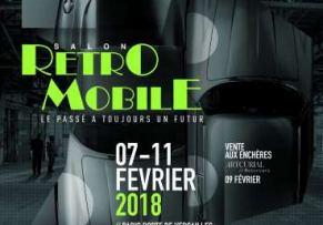 Les 120 ans de Renault à Rétromobile 2018