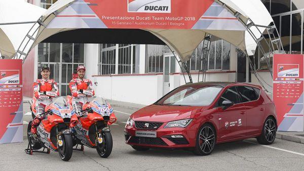 Championnat du monde moto GP : Seat et Ducati, un partenariat de deux ans
