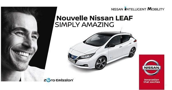 Découvrez la NOUVELLE NISSAN LEAF: Simply amazing