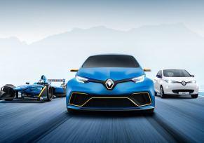 Renault ZOE e-Sport Concept : 100% électrique, 100% sportif