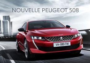 Découvrez la Nouvelle Peugeot 508!